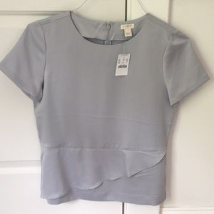 JCrew gray top